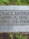 Grace Luther (born Knight)