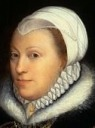Catherine / Katherine Knollys, Lady Knollys, Maid of Honor to Anne of Cleves in 1539 (born Carey)