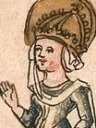 Hildegarde Wife of Charlemagne (born Of The Vinzgau)