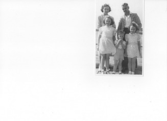 Jack Mellow Speer and family circa 1947 - Harman Web Site