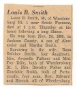 Louis B Smith Obit - Clarence Smith-Merilyn Smith Family