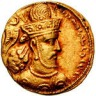 King Shapur Iii Of Persia -sassaniah Parsi King Of Persia