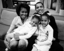 The young family - MyHeritage Celebrities - Barack Obama