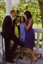 on the balcony - MyHeritage Celebrities - Barack Obama