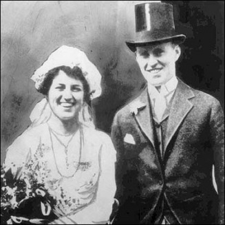 Wedding of Joseph and Rose Kennedy - Photo - MyHeritage Celebrities ...