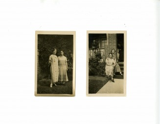Ethel and Rae Israel, Rae Israel and Aunty Leah - Durell Web Site