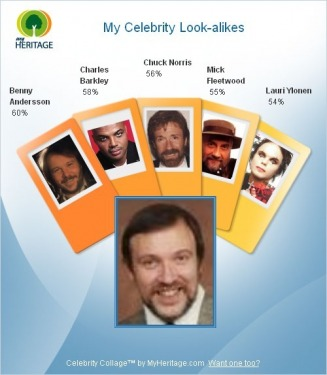 My Celebrity Look-alikes - Irwin-Hughes Web Site