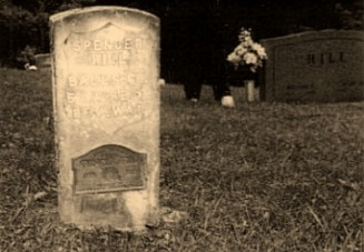 Spencer Hill's grave - Hill Web Site