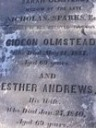 Esther Olmstead (born Andrews)